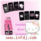 Caja F, Calcetin Hello Kitty Coton Stras (36udad)