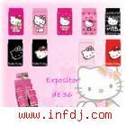 Caja F, Calcetin Hello Kitty Coton (36udads)